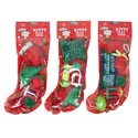 Cat Toy Christmas Stocking 6pc 3 Assorted In Pdq