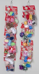 Cat Toy/f Asst On Merch Strip 6 Styles Per Strip 4 Strips Per Case -catnip