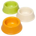 Pet Bowl 8 Oz 4.5d X 2h 3 Colors In Pdq #14042