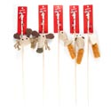 Cat Toy Wooden Wand With Bell 5 Styles #15073