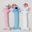 Dog Toy Plush 3 Asst Animals 13 Inch Long In Pdq #15092 #15092