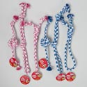 Dog Toy Rope Chews 3 Styles 2 Colors In Pdq #c25217