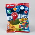 Candy Airheads Bites Fruit 3.8 Oz In Peg Bag