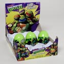 Easter Candy Tmnt Plastic Egg Candy W/stickers 1.5 Oz In Pdq