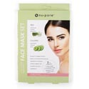 Facial Masks 2ct Aloe & Cucumber Nupore Collagen Essence