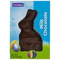 Easter Candy Real Milk Choco Solid Rabbit 2.25 Oz Box In Pdq