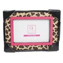 Photo Frame 8 X 7 Leopard 4 X 6 Opening Mdf (7.50)