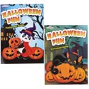 Coloring Book Halloween 2 Asst 96 Pages In Floor Display Made In Usa