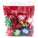 Bows Christmas 36 Peel N Stick Asst Colors In Printed Polybag Made In Usa