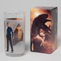 Glassware Star Trek Collectible Cooler Glass Spock Boxed 16 Oz