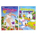Color/activity Book Spring Theme 96pg 2asst In Floor Disp Ppd $4.95