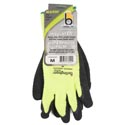Glove Thermal Knit Green Medium Insulated Heavy Duty Latex*9.95* Palm Carded # C4005hvgrm