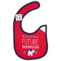 Baby Bib Future Republican 12.5 X 8 Cotton (3.00)