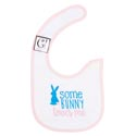 Baby Bib Some Bunny Loves Me 12.5x8 Cotton (3.00)