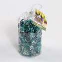 Gems 42oz Teal Mix Decorative Pvc Bag *4.77*
