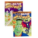 Coloring/activity Book 2asst Halloween Styles 96pd In Pdq