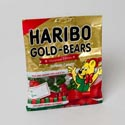Candy Gummi Gold-bears Haribo 4 Oz Holiday Bag In Counter Dspl