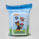 Hand Wipes 20 Ct Paw Patrol 2-9 Pc Tray Packs