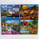 Puzzle 48pc Kids Floor Size 24in X 36in 6 Asst See N2 # Cm-8950