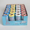 Rope Polypropylene Twine 200ft 100%/paper Core/4ast Clr/24pcpdq Blue/white/red/yellow Solids