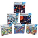 Puzzle Smithsonian 100 Pcs 6 Assorted In Case 10 X 8 # 9036-nd