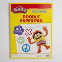 Doodle Paper 40 Sheet Play-doh In 24 Pc Tray Pack