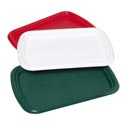 Serving Tray Rectangualr 15x10 3 Christmas Colors In Pdq