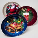 Dish Deep Serving Christmas 14 In Dia 4 Designs In Pdq 330 Grams