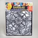 Coloring Poster 16 X 20 Felt Mandalas 6 Assorted