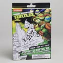 Travel Kit Teenage Turtles 8pc Pdq Tray Boxed 10 Boards *3.99* 10 Markers, 25 Stickers