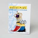 Coloring Book Minions 96 Pages In 24pc Display Box Sell In Usa Only