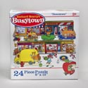 Puzzle 24pc Busy Town 12 X 9 Boxed 6 Assorted