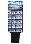Battery 2pk Alkaline Display 176pcs Ac Delco 128-aa,48-aaa