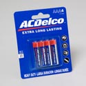 Batteries Ac Delco Aaa 4pk Heavy Duty On Blister Card