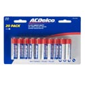 Batteries Aa 20pk Heavy Duty Ac Delco Carded