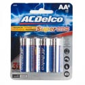 Batteries Aa 8pk Alkaline Ac Delco Carded