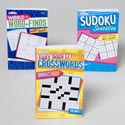 World Of Puzzles 3 Asst 128 Pg Word Finds,sudoku,easy Xwords In Pdq