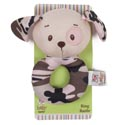 Baby Rattle 4.5in Dog Camo Pink Carded (3.00)