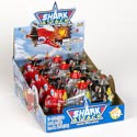 Candy Shark Attack 3 Asst Candy Filled Plane .25 Oz 12pc Counter Display