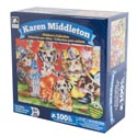 Puzzle 100pc Childrens Karen Middleton 9 X 12 6 Assorted # Cm-8592
