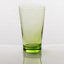Drinkware 15.2 Oz Green Cooler Glass Elegance