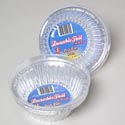 Aluminum Pot Pie Pan W/lid 3pk 5 X 1.75 Bulk Packed