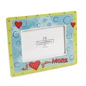 Picture Frame 4x6 Ceramic/glass (10.00) 2 Assorted Friendship, I Love You