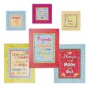 Wall Plaque Word Sayings 6 Assorted Box Mdf (7.25) See N2