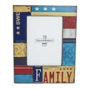 Photo Frame 5 X 7 Family License Plate Mdf *17.99*