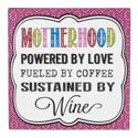 Wall Sign Motherhood Powered By Love Mdf (5.00)
