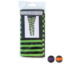 Tights Adult Striped 4ast Colors In Notes/pbh Red/green/orange/purple