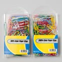 Paper Clips Color In Pvc Box 80ct Jumbo Or 200ct Regular Gov Stationery Label