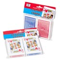 Playing Cards 2pk Poker Coated **polybag/header