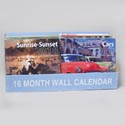 Calendar Wall 16 Month 2014 12 Themes 11x12 100pc Pdq W/bonus Stickers